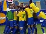 Gols de Brasil X Argentina /5/09/09 -Eliminatórias 2009-Brasil esta na  Copa do Mundo de 2010!