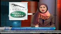 Queen Elizabeth Opens Jaguar Land Rover Plant