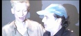 Tilda Swinton Mia Wasikowska in Vampire 'blood ecstasy' scene frm Jarmusch's Only Lovers Left Alive