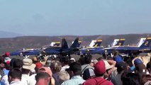 Hi-DEF!!! Blue Angels Squadron Miramar Air Show 2009 in San Diego