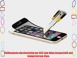 StilGut Displayschutzfolie Panzerglas f?r iPhone 6 Plus (5.5) (2er-Pack) schwarzer Rand