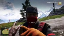 Farcry 4, funny flying truck grenade hit.