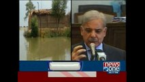CM Punjab directs to crank up relief work in flood effected areas