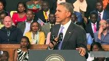 Confederate flag sends a bad message, says Obama
