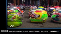 Jules Bianchi : le monde de la Formule 1 lui rend hommage au Grand Prix de Hongrie