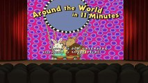 Arthur S14E07 Around the World in 11 Minutes Muffy and the Big Bad Blog