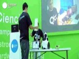 Qbo's learning and recognition in the cloud. Qbo robot