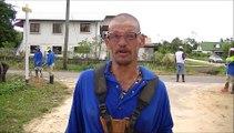De start van de rehabilitatie van dak- en thuislozen in Suriname