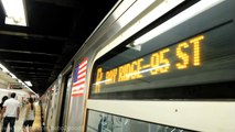 MTA:R160 Jamaica Center Bound (J) Train @ Sutphin Blvd