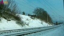 Vlaky - Mráz na českých tratích / Trains - Freeze On The Czech Railways