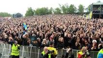 Sabaton - Sweden Rock Festival 2012. National anthem and more!