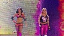 Melina and Maria Kanellis vs. Layla and Natalya