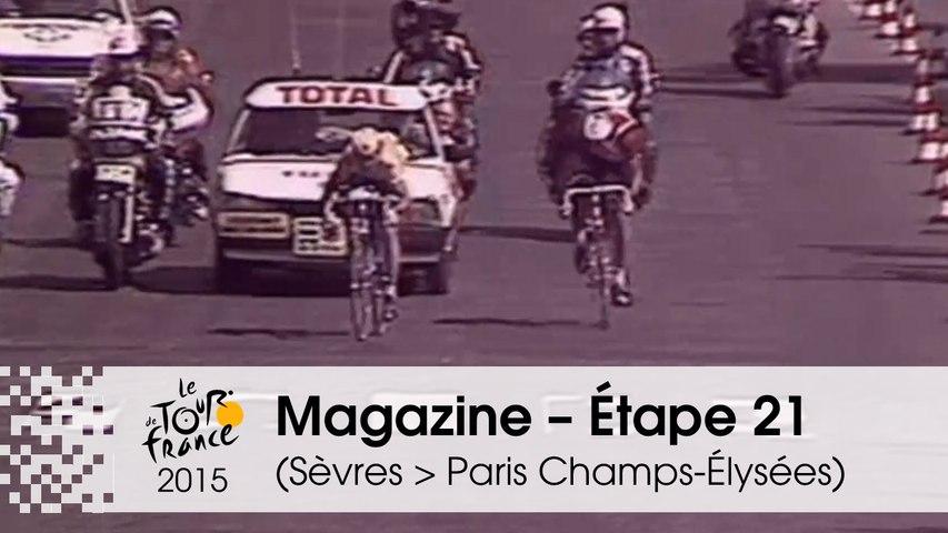 Magazine - Étape 21 (Sèvres - Grand Paris Seine Ouest > Paris Champs-Élysées) - Tour de France 2015