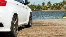 """BMW X6 on 22"""" Vossen VVS-CV3 Concave Wheels / Rims"""