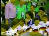 MUNDIAL ITALIA 90, Final Premiación a los Campeones y Sub-Campeones