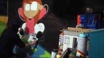 IceCreamBuds Cartoons - Spray Painting Graffiti Characters #6