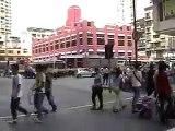 澳門五一遊行2007 Macau May 1 workers strike march parade in 2007
