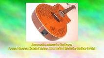 Luna Henna Oasis Cedar Acoustic Electric Guitar Solid
