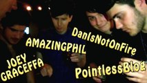 CONNOR FRANTA COMING over & FLIPPING OUT w/PointlessBlog Joey Graceffa DanIsNotOnFire AmazingPhil !