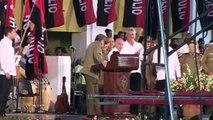 Cuba faz exigências aos EUA em ato do Quartel Moncada