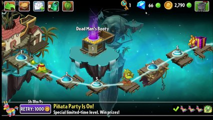 Plants vs Zombies 2 - How To Earn Easy Gems and Coins Fast Free (2015)