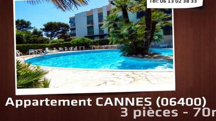 CANNES - Appartement  3 Pièce(s) 70 m²  à vendre