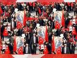 Turks Protest Islamist AKP in Karsiyaka, Izmir, Turkey
