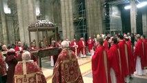 Procesión de Santiago Apóstol. Catedral de Santiago, 30 diciembre 2012 (2)