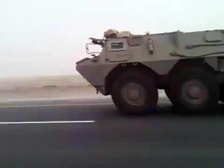 مظاهرات البحرين دخول قوات درع الجزيرة - الجيش القطرى