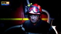 Incendie en Gironde: les pompiers en lutte toute la nuit, au moins 560 hectares détruits