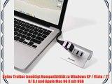 iHarbort? 4 port USB 3.0 hub USB-Anschl?ssen f?r Laptops Ultrabooks Tablet-PC Mac (einschlie?lich