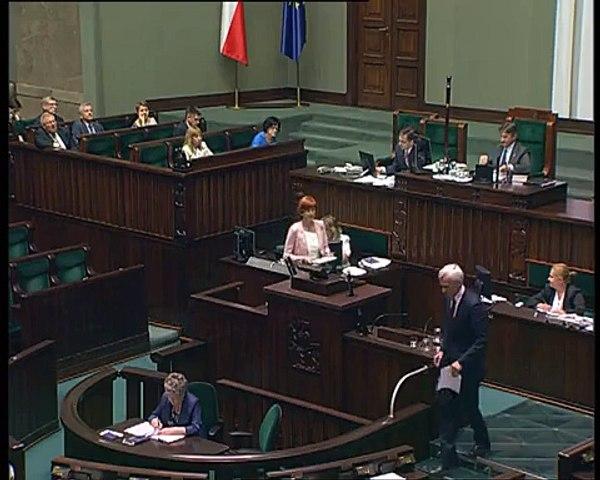 Poseł Elżbieta Rafalska - Wystąpienie z dnia 22 lipca 2015 roku.