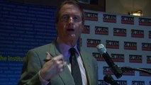 University of Texas President Bill Powers at Gulen Institute Luncheon Forum 2/3