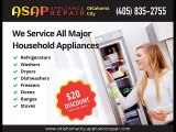 ASAP Appliance Repair of Oklahoma City-(405) 835-2755