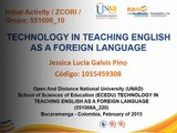 The ICT in the English Learning Jessica Galvis 10