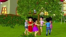 Here We Go Round The Mulberry Bush - 3D Animation - English Nursery rhymes - 3d Rhymes -  Kids Rhymes - Rhymes for childrens