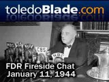 FDR Fireside Chat. 2nd Bill of Rights