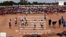 Mène 3, finale France Quadrettes 2015, Sport Boules, Saint-Denis-lès-Bourg 2015