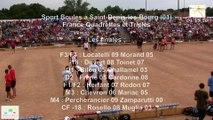 Mène 8, finale France Quadrettes 2015, Sport Boules, Saint-Denis-lès-Bourg 2015