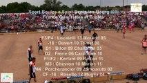 Mène 10, finale France Quadrettes 2015, Sport Boules, Saint-Denis-lès-Bourg 2015