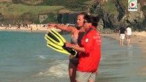 #Locmaria - Les Sauveteurs en mer SNSM de la plage des Grands-Sables  - TV Belle-Ile-en-mer 24/7
