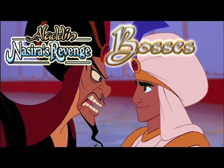 Aladdin Nasira's Revenge All Bosses   Boss Battles (PS1)