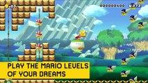 Wii U - Super Mario Maker E3 2015 Trailer (Official Trailer)