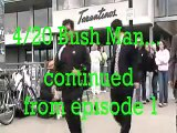 Young Girls Freak Out, Scared by SF Bush Man at Fisherman's Wharf on 420
