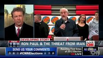 "Both U.S. & Israeli Military Support Ron Paul on Iran Nukes - Santorum & Gingrich ""Trigger Happy"""