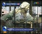 Presentaron la estatua de Juana Azurduy - Telefe Noticias