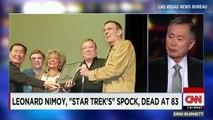 George Takei on Leonard Nimoy: He was a great friend'