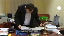 euronews reporter - Hungary's right turn