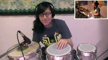 Best Thing I Never Had-Beyoncé (Drum Set, Djembe, Darbuka & Indian Congas Cover)- Sarah T