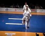 SZEPESI CSENGE vs Olga Sorokina - All Kyokushin karate WT 2009 Budapest